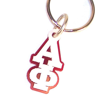 Alpha Phi Letter Keychain - Craftique cqMGLA