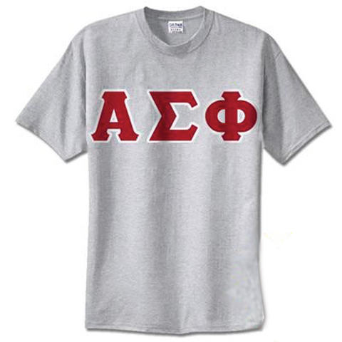 Alpha Sigma Phi Standards T-Shirt - $14.99 Gildan 5000 - TWILL