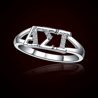 Alpha Sigma Tau Sorority Ring - GSTC-R001