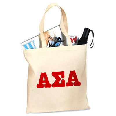 Alpha Sigma Alpha Printed Budget Tote - Letter - 825 - CAD