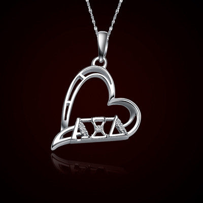 Alpha Xi Delta Sorority Heart Charm - GSTC-HeartCharm