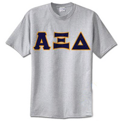 Alpha Xi Delta Standards T-Shirt - $14.99 Gildan 5000 - TWILL