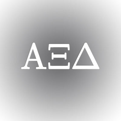 Alpha Xi Delta Car Window Sticker - compucal - CAD