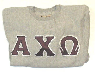 Alpha Chi Omega 12 ounce Champion Crewnecks