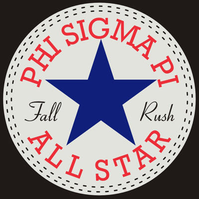 Fraternity sorority screen printed shirt designs all for Fraternity rush shirt ideas