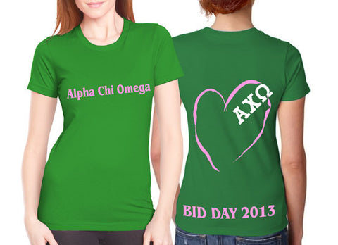 Bid Day - Heart