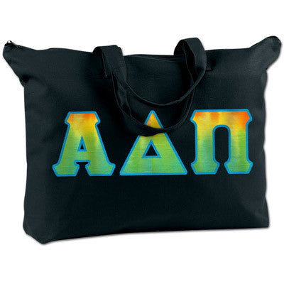 Alpha Delta Pi Shoulder Bag - Bag Edge BE009 - TWILL