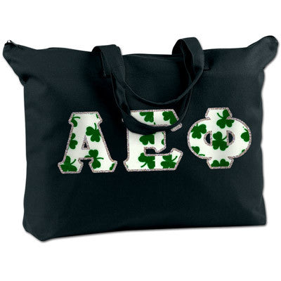 Alpha Epsilon Phi Shoulder Bag - Bag Edge BE009 - TWILL