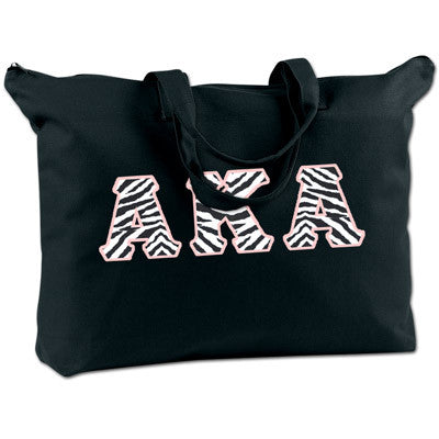 Alpha Kappa Alpha Shoulder Bag - Bag Edge BE009 - TWILL