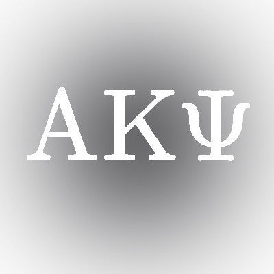 Alpha Kappa Psi Car Window Sticker - compucal - CAD