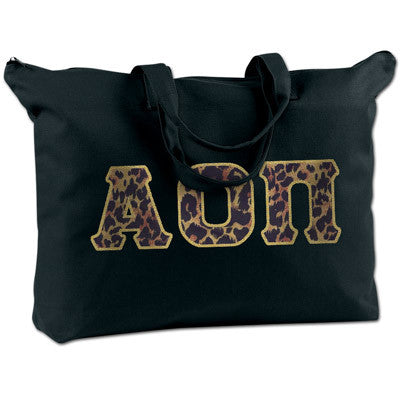 Alpha Omicron Pi Shoulder Bag - Bag Edge BE009 - TWILL