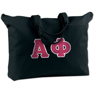 Alpha Phi Shoulder Bag - Bag Edge BE009 - TWILL