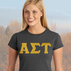 Alpha Sigma Tau Ladies' Softstyle Printed T-Shirt - Gildan 6400L - CAD