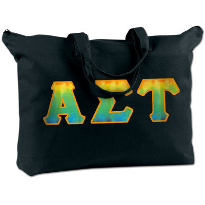 Alpha Sigma Tau Shoulder Bag - Bag Edge BE009 - TWILL