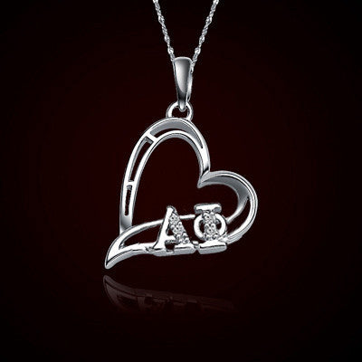 Alpha Phi Sorority Heart Charm - GSTC-HeartCharm