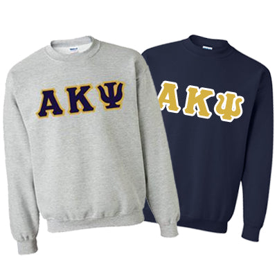 Alpha Kappa Psi Crewneck Sweatshirt Package - Gildan 12000 - TWILL