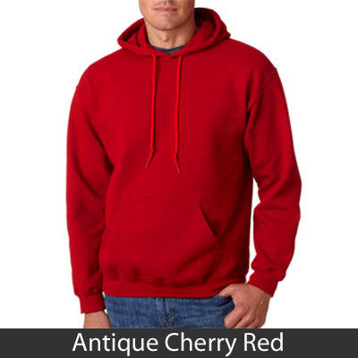 Alpha Tau Omega Hooded Sweatshirt - Gildan 18500 - TWILL