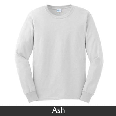 Greek Fraternity or Sorority Tie-dye Bordered Letter Crewneck Sweatshirt - Gildan 12000 - TWILL