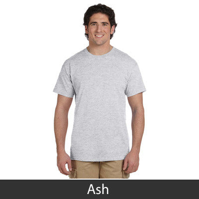 Alpha Gamma Rho Vintage Football Printed T-Shirt - Gildan 5000 - CAD