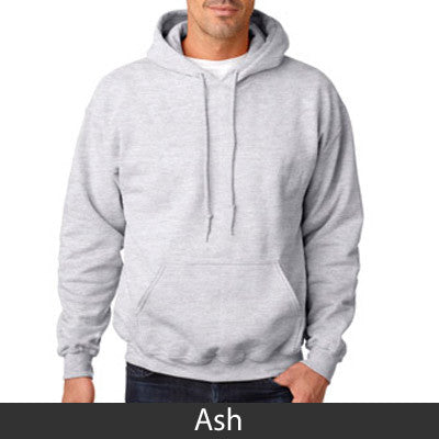 Alpha Phi Delta Hooded Sweatshirt - Gildan 18500 - TWILL