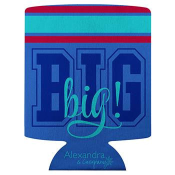 Big sis lil sis koozie a3004 something greek for Lil flip jewelry collection