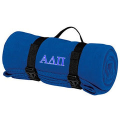 Alpha Delta Pi Fleece Blanket - Port and Company BP10 - EMB