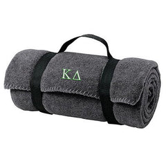 Kappa Delta Fleece Blanket - Port and Company BP10 - EMB