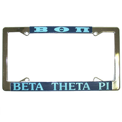 Beta Theta Pi License Plate Frame - Rah Rah Co. rrc