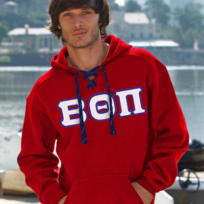 Beta Theta Pi Hockey Hoody - J. America 8830 - TWILL