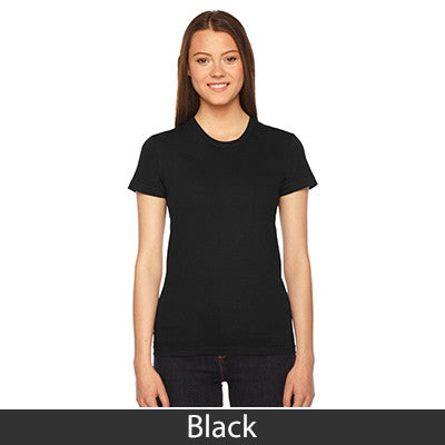 Delta Phi Epsilon Embroidered Jersey Tee - American Apparel 2102 - EMB