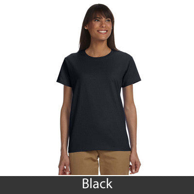 Alpha Sigma Alpha Ladies T-Shirt - Gildan 2000L - TWILL