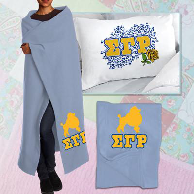 Sigma Gamma Rho Pillowcase / Blanket Package - CAD
