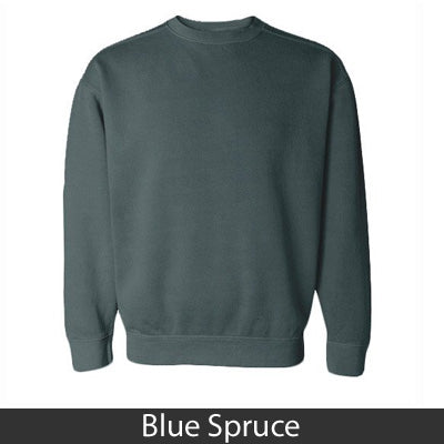Greek Bar Design Crewneck Sweatshirt - Comfort Colors 1566 - CAD