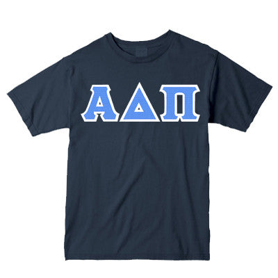 sorority twill letter shirts v necks greek twill letter