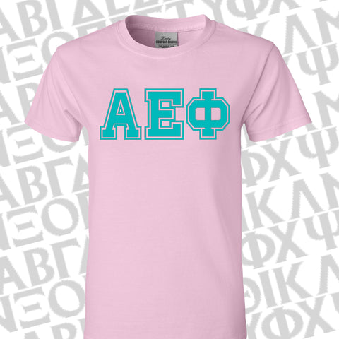Sorority Bid Day Special Varsity Printed Shirt - Gildan G500 - CAD