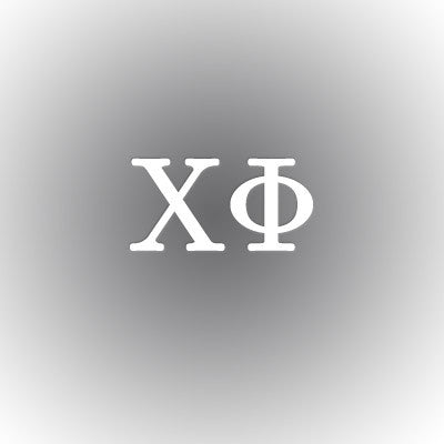 Chi Phi Car Window Sticker - compucal - CAD