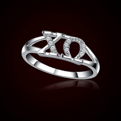Chi Omega Sorority Ring - GSTC-R001