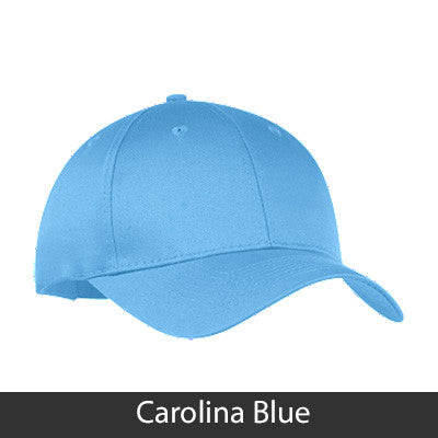 Zeta Sigma Chi 2-Color Embroidered Cap - Port and Company CP80 - EMB