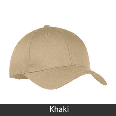 Kappa Alpha 2-Color Embroidered Cap - Port and Company CP80 - EMB