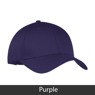 Delta Phi Epsilon 2-Color Embroidered Cap - Port and Company CP80 - EMB