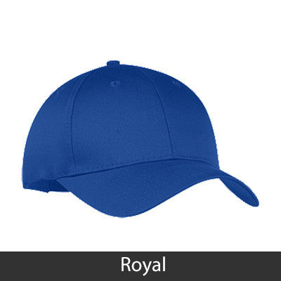 Sigma Sigma Sigma 2-Color Embroidered Cap - Port and Company CP80 - EMB