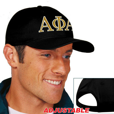 Alpha Phi Alpha 2-Color Embroidered Cap - Port and Company CP80 - EMB