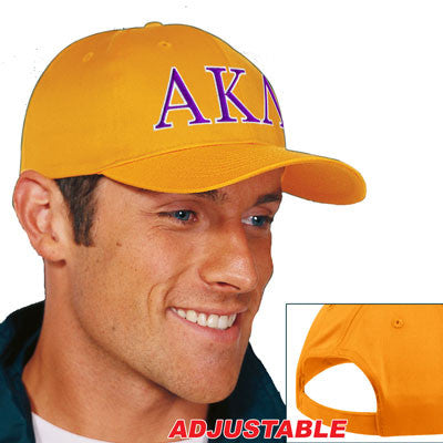 Alpha Kappa Lambda 2-Color Embroidered Cap - Port and Company CP80 - EMB