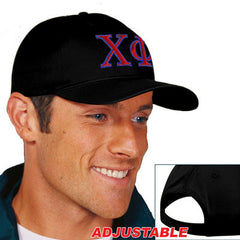 Chi Phi 2-Color Embroidered Cap - Port and Company CP80 - EMB