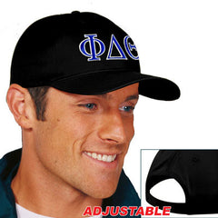 Phi Delta Theta 2-Color Embroidered Cap - Port and Company CP80 - EMB