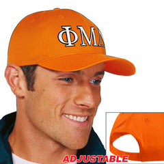 Phi Mu Delta 2-Color Embroidered Cap - Port and Company CP80 - EMB