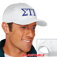 Sigma Tau Gamma 2-Color Embroidered Cap - Port and Company CP80 - EMB