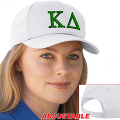 Kappa Delta 2-Color Embroidered Cap - Port and Company CP80 - EMB