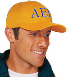 Fraternity Adjustable 2-Color Embroidered Cap - Port and Company CP80 - EMB
