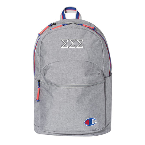 Sorority Champion Embroidered Backpack - CS1002 - EMB